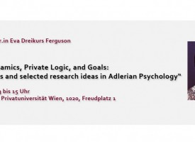 Vortrag, Diskussion – Family Dynamics, Private Logic, and Goals
