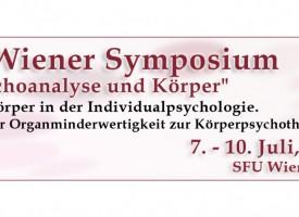 """X. Wiener Symposium """"Psychoanalyse und Körper"""""""