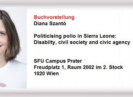 MED | Buchvorstellung Politicising polio in Sierra Leone: Disabilty, civil society and civic agency