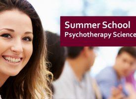 Psychotherapy Science: Summer School 2019!