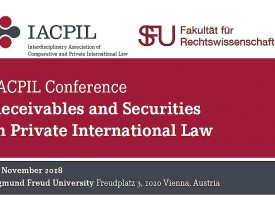 IACPIL Conference: Receivables and Securities in Private International Law