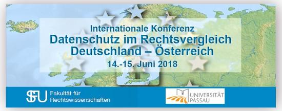 JUS | Konferenz: Datenschutz im Rechtsvergleich: Deutschland – Österreich
