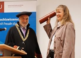 JUS | Verleihung der Professur an Univ.-Prof. Dr. Diana zu Hohenlohe, LL.M.