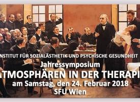 """Jahressymposium: """"ATMOSPHÄREN IN DER THERAPIE"""""""
