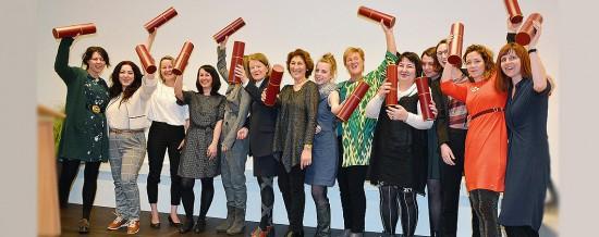 Kunsttherapie   Graduierungsfeier 15.03.2019
