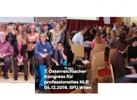 """Kongress """"NLP Professionell: Gestern – Heute – Morgen"""""""