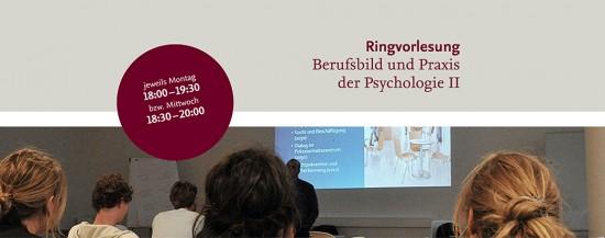 VERSCHOBEN | PSY Ringvorlesung Berufsbild und Praxis der Psychologie II