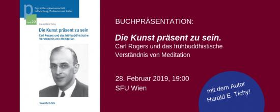 PTW | Buchpräsentation: Die Kunst präsent zu sein.