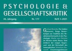 Issue 01-2021 of Psychologie & Gesellschaftskritik: »Zeit«