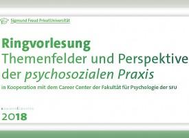 PSY | Ringvorlesung: Themenfelder und Perspektiven der psychosozialen Praxis