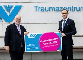 AUVA und SFU unterzeichnen Vereinbarung zur Kooperation