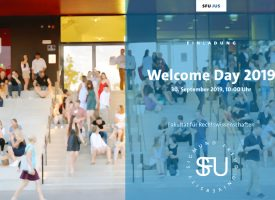 JUS | Welcome Day am 30. September 2019