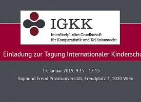 JUS   Tagung: Internationaler Kinderschutz