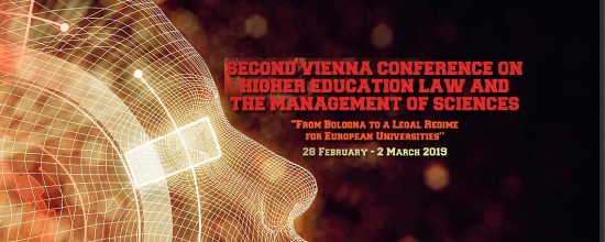 JUS | Second Vienna Conference on Higher Education Law and the Management of Sciences