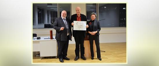 PTW | Verleihung der Honorarprofessur Psychotherapiewissenschaft an Dr. Heiner Bartuska