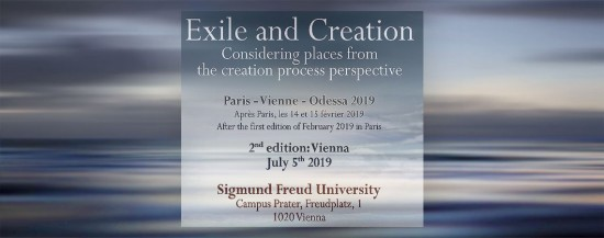 SFU Conference Vienna July 5th 2019 | Exile and Creation