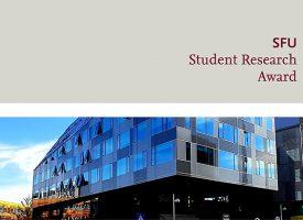 SFU Student Research Award 2020