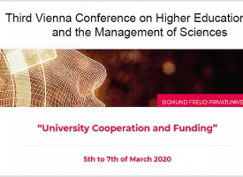 JUS | Third Vienna Conference on Higher Education Law and the Management of Sciences