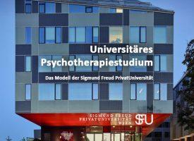 Book Release | »Universitäres Psychotherapiestudium: Das Modell der Sigmund Freud PrivatUniversität«
