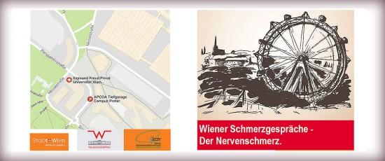 """21.10.2017   Fortbildung """"Wiener Schmerzgespräche – Der Nervenschmerz"""""""