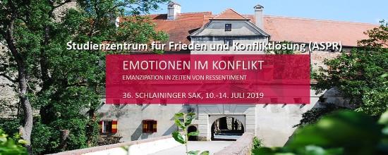 PSY Externer Veranstaltungshinweis | Sommerakademie 2019: Emotionen im Konflikt