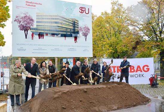 Das neue Universitätsgebäude der SFU