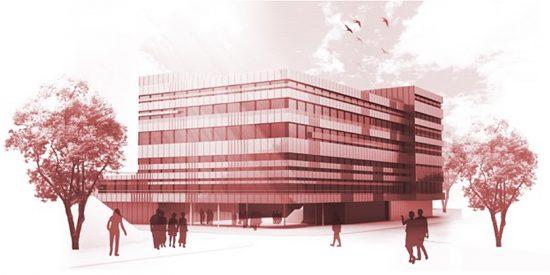 Spatenstich für das neue Universitätsgebäude der SFU