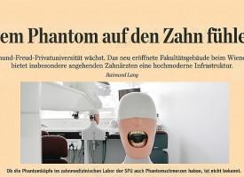 PRESSE: DER STANDARD | Dem Phantom auf den Zahn fühlen