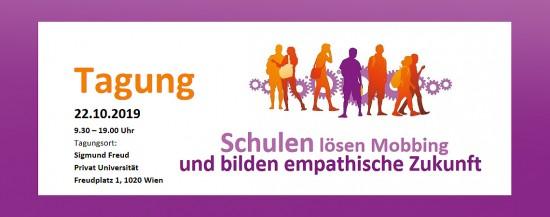 Tagung: Schulen lösen Mobbing und bilden empathische Zukunft