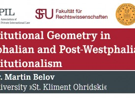 Lecture: Constitutional Geometry in Westphalian and Post-Westphalian Constitutionalism