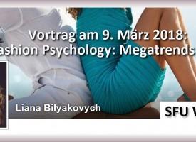 """Vortrag von Prof. Dr. Liana Bilyakovych: """"Fashion Megatrends 2020"""""""