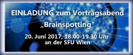 """Vortrag: """"Brainspotting – eine traumatherapeutische Technik"""""""