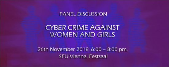 Panel Discussion: Cyber Crime against Women and Girls
