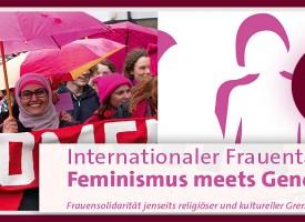 """PTW   Internationaler Frauentag """"Feminismus meets Gender Jihad"""""""