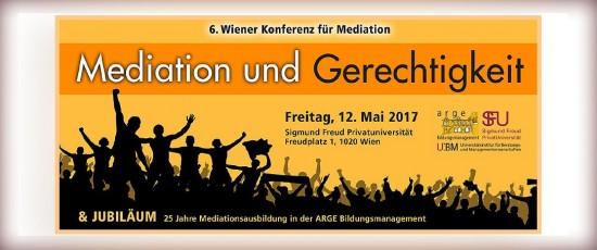 VI. Wiener Konferenz für Mediation 2017