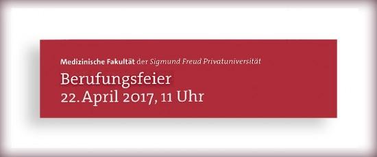 MED | Berufungsfeier Fakultät für Medizin am 22.4.2017