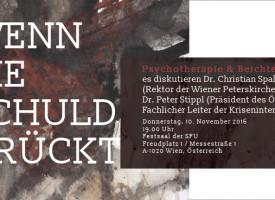 """Podiumsdiskussion: """"Wenn die Schuld drückt…"""" Psychologie und Beichte"""