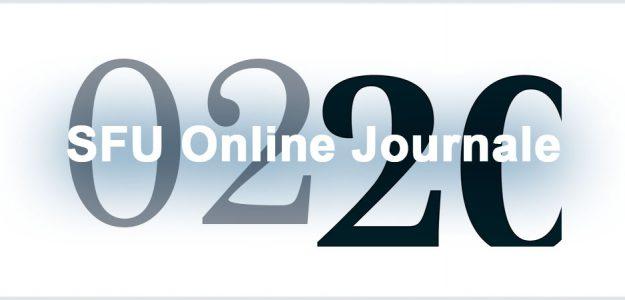 SFU Online Journale | Aktuelle Ausgabe
