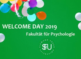 Welcome Day – English Psychology Programme