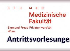 Fakultät Medizin Antrittsvorlesungen